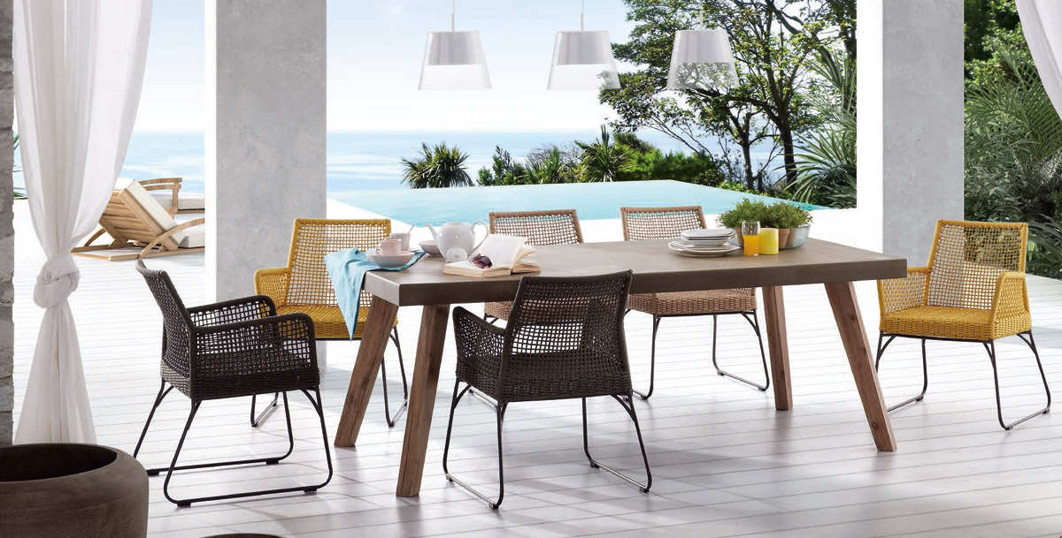 Arredamento outdoor arredamento esterni amf mobili di for Arredamento outdoor