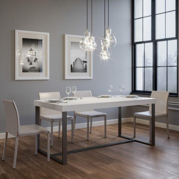 Tavolo da Pranzo Rettangolare Amabile By Itamoby