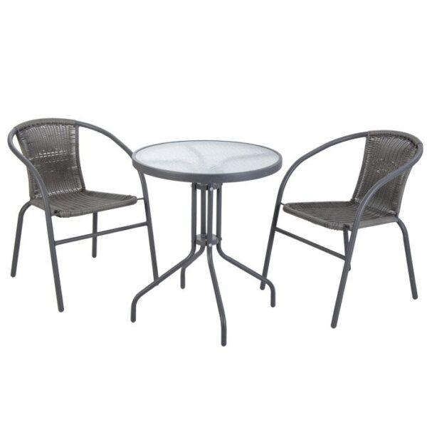 Tavolini E Sedie Da Esterno.Tavolino E Sedie Da Esterno Serie Io By Stark Amf Mobili Di Design